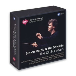 Simon Rattle & His Soloists, The CBSO Years (15CD, Warner)