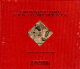 Johann Sebastian Bach: Violoncello Solo Suites IV, V, VI (Winter & Winter)