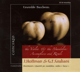 Giovanni Hoffman, Giovanni Francesco Giuliani: The Violin & The Mandolin: Accomplices and Rivals, Divertimenti e Quartetti per mandolino, violino e basso continuo (Concerto)