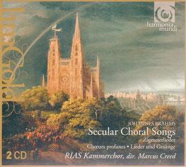 Johannes Brahms: Secular Choral Songs (2CD, Harmonia Mundi)
