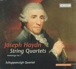Joseph Haydn: String Quartets Anthology Vol. 1 (Accent)