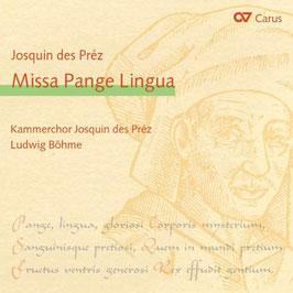 Josquin Desprez: Missa Pange Lingua (Carus)