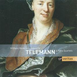 Georg Philipp Telemann: 6 Paris Quartets (2CD, Virgin Veritas)