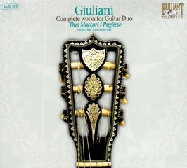 Mauro Giuliani: Complete works for Guitar Duo (3CD, Brillian)
