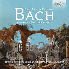 Carl Philipp Emanuel Bach: Chamber Music for Clarinet (Brilliant)