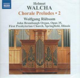 Helmut Walcha: Chorale Preludes 2 (Naxos)