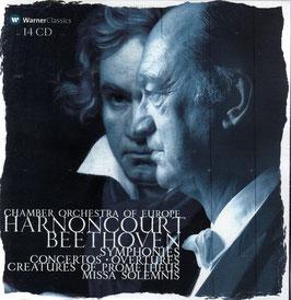 Ludwig van Beethoven: Symphonies, Concertos, Overtures, Creatures of Prometheus, Missa Solemnis (14CD, Warner)