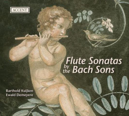 Flute Music by the Bach Sons Wilhelm Friedemann Bach, Johann Christoph Friedrich Bach, Johann Christian Bach (Accent)