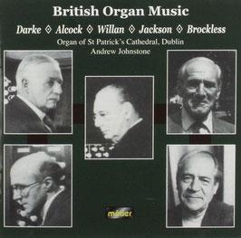 British Organ Music: Darke, Alcock, Willan, Jackson, Brockless (Métier)