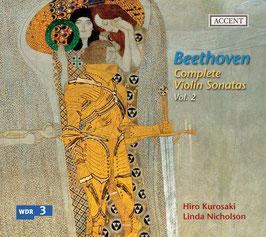 Ludwig van Beethoven: Complete Violin Sonatas Vol. 2 (Accent)