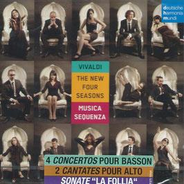 Antonio Vivaldi: The New Four Seasons, 4 Concertos pour Basson, 2 Cantates pour Alto, Sonate La Follia (Deutsche Harmonia Mundi)