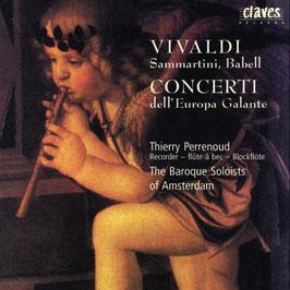 Antonio Vivaldi, Giuseppe Sammartini, William Babell: Concerti dell' Europa Galante (Claves)
