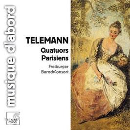 Georg Philipp Telemann: Quatuors Parisiens (Harmonia Mundi)
