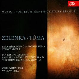 Jan Dismas Zelenka: Sanctus, Agnus Dei ZWV 35 & 36. Sub tuum praesidium ZWV 157, Frantisek Ignac Antonin Tuma: Stabat Mater (Supraphon)