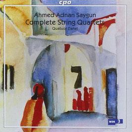 Ahmed Adnan Saygun: Complete String Quartets (2CD, CPO)