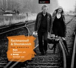 Sergei Rachmaninoff, Dmitri Shostakovich: The Sonatas (Quintone)