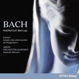 Johann Sebastian Bach: Magnificat, Johann Kuhnau: Wie schön leuchtet der Morgenstern (Atma)