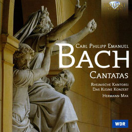 Carl Philipp Emanuel Bach: Cantatas (2CD, Brilliant)