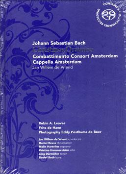 Johann Sebastian Bach: Christmas Oratorio (2SACD, boek, Challenge Classics)