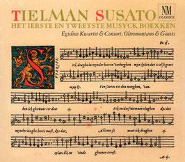Tielman Susato: Het Ierste en Tweetste Musyck Boexken (2CD, NM Classics)