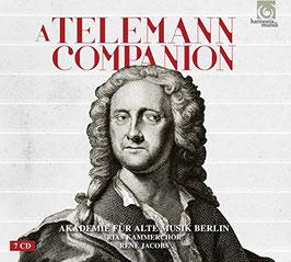Georg Philipp Telemann: A Telemann Companion (7CD, Harmonia Mundi)