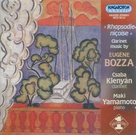 Eugène Bozza: Clarinet Music (Hungaroton)