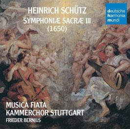 Heinrich Schütz: Symphoniae Sacrae III (2CD, Deutsche Harmonia Mundi)