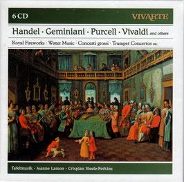 Tafelmusik: Handel, Geminiani, Purcell, Vivaldi and others (6CD, Sony Vivarte)