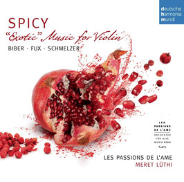 Spicy, Exotic Music for Violin: Biber, Fux, Schmelzer (Deutsche Harmonia Mundi)