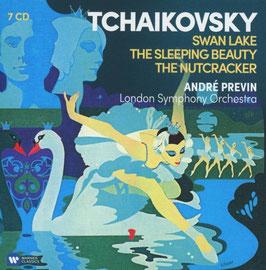Pyotr Ilyich Tchaikovksy: Swan Lake, The Sleeping Beauty, The Nutcracker (7CD, Warner)