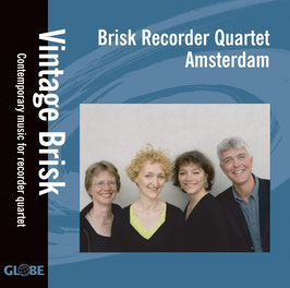 Vintage, Contemporary music for recorder quartet (Globe)