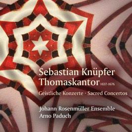 Sebastian Knüpfer: Geistliche Konzerte (Christophorus)