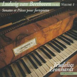 Ludwig van Beethoven: Sonates et Pièces pour fortepiano (Cascavelle)