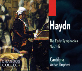 Franz Joseph Haydn: The Early Symphonies Nos 1-12 (3CD, Chandos)