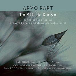 Arvo Pärt: Tabula Rasa, Symphony No. 1, Collage on the Theme B-A-C-H, Pro et Contra (Factory of Sounds)