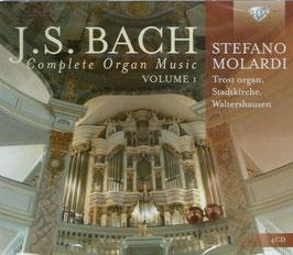 Johann Sebastian Bach: Complete Organ Music, Volume 1 (4CD, Brilliant)