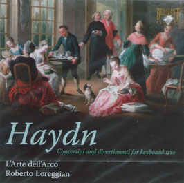 Joseph Haydn: Concerti and divertimenti for keyboard trio (Brilliant)