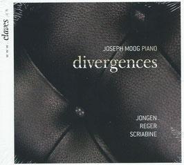 Divergences: Joseph Jongen, Max Reger, Alexander Scriabin (Claves)