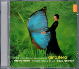 Alberto Ginastera: Estancia, Concerto pour harpe, Panambi (Naïve)