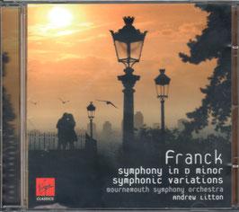 César Franck: Symphony in D minor, Symphonic Variations (Virgin Classics)