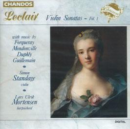 Jean Marie Leclair: Violin Sonatas - Vol. 1 (Chandos)
