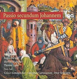 Johann Sebastian Bach: Passio secundum Johannem BWV 245, Version II, 1725 (2CD, MDG)