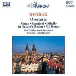 Antonín Dvorák: Overtures Vanda, Carnival, Othello, In Nature's Realm, My Home (Naxos)