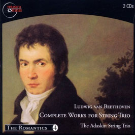 Ludwig van Beethoven: Complete Works for String Trio (2CD, Musica Omnia)