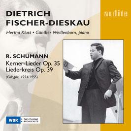 Robert Schumann: Kerner-Lieder Op. 35, Liederkreis Op. 39, Cologne 1954/1955 (Audite)