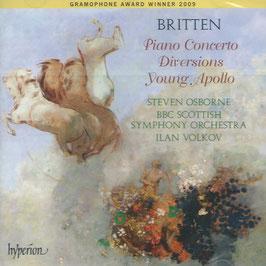 Benjamin Britten: Piano Concerto, Diversions, Young Apollo (Hyperion)