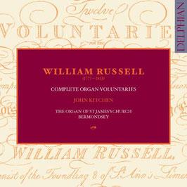 William Russell: Complete Organ Voluntaries (3CD, Delphian)