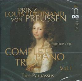 Prinz Louis Ferdinand von Preussen: Complete Piano Trios Vol. 1 (MDG)