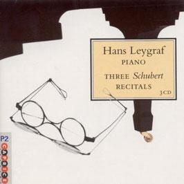 Franz Schubert: Three Schubert Recitals (3CD, Caprice)