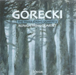 Henryk Górecki: The Three String Quartets (2CD, Hyperion)